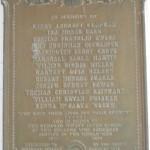 Shepherd College Memorial Plaque